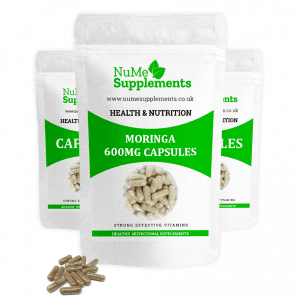 Moringa Capsules - packed with an abundance of antioxidants.
